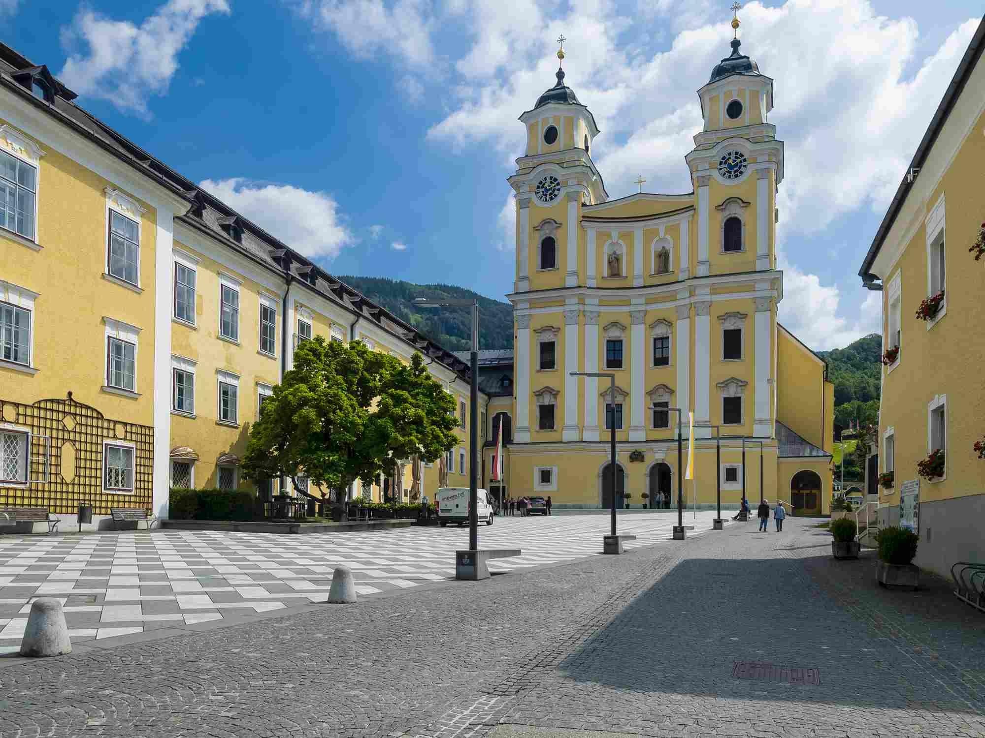 St. Michaels Basilica, Mondsee Austria
