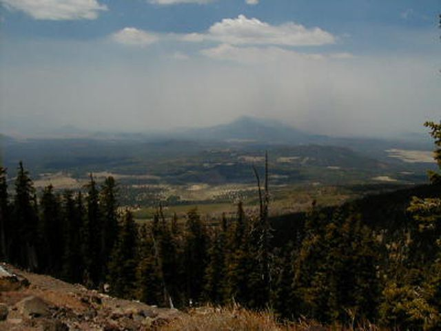 View from Mount Humphreys