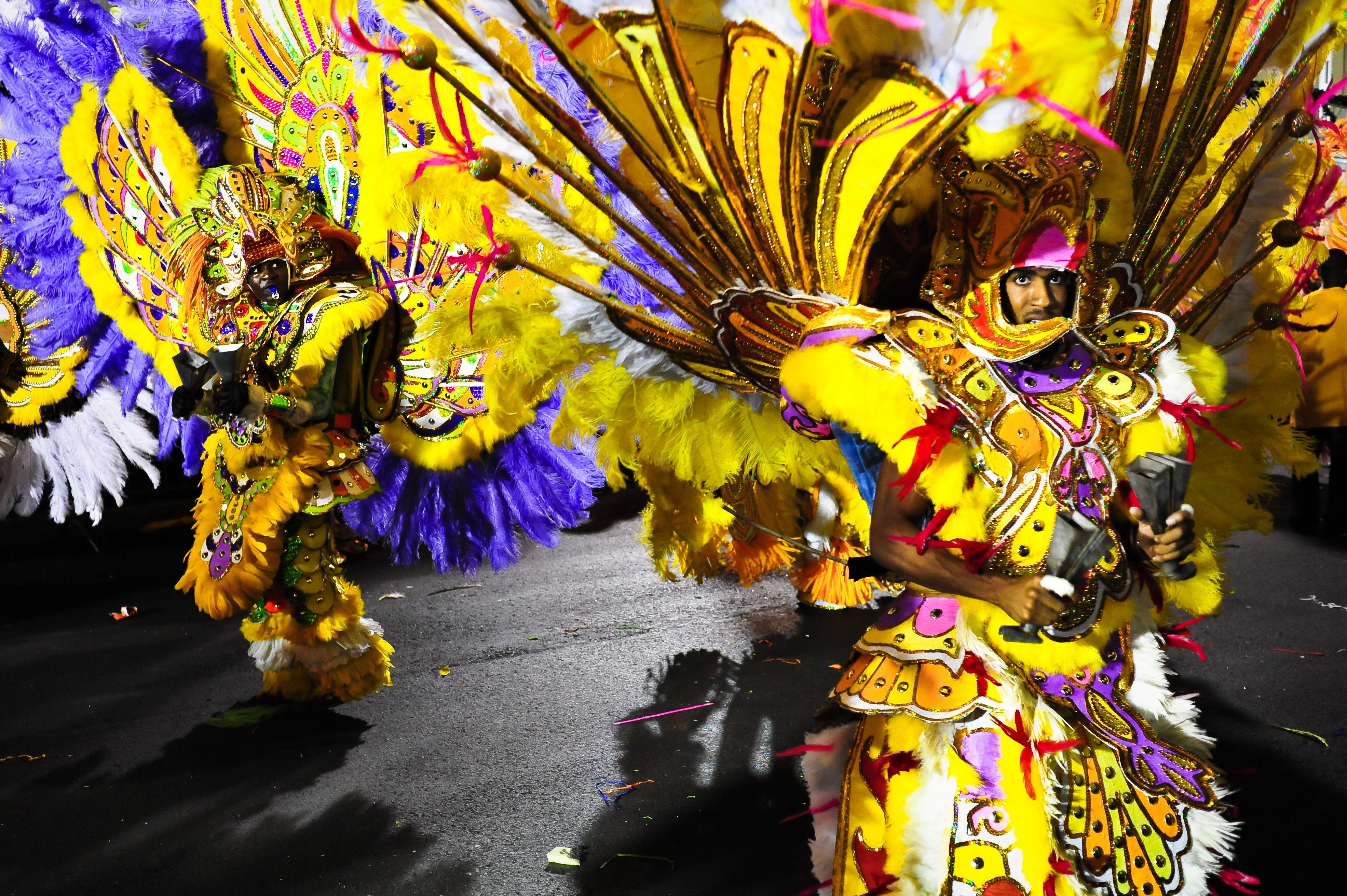 Festival de Junkanoo, Nassau, Bahamas