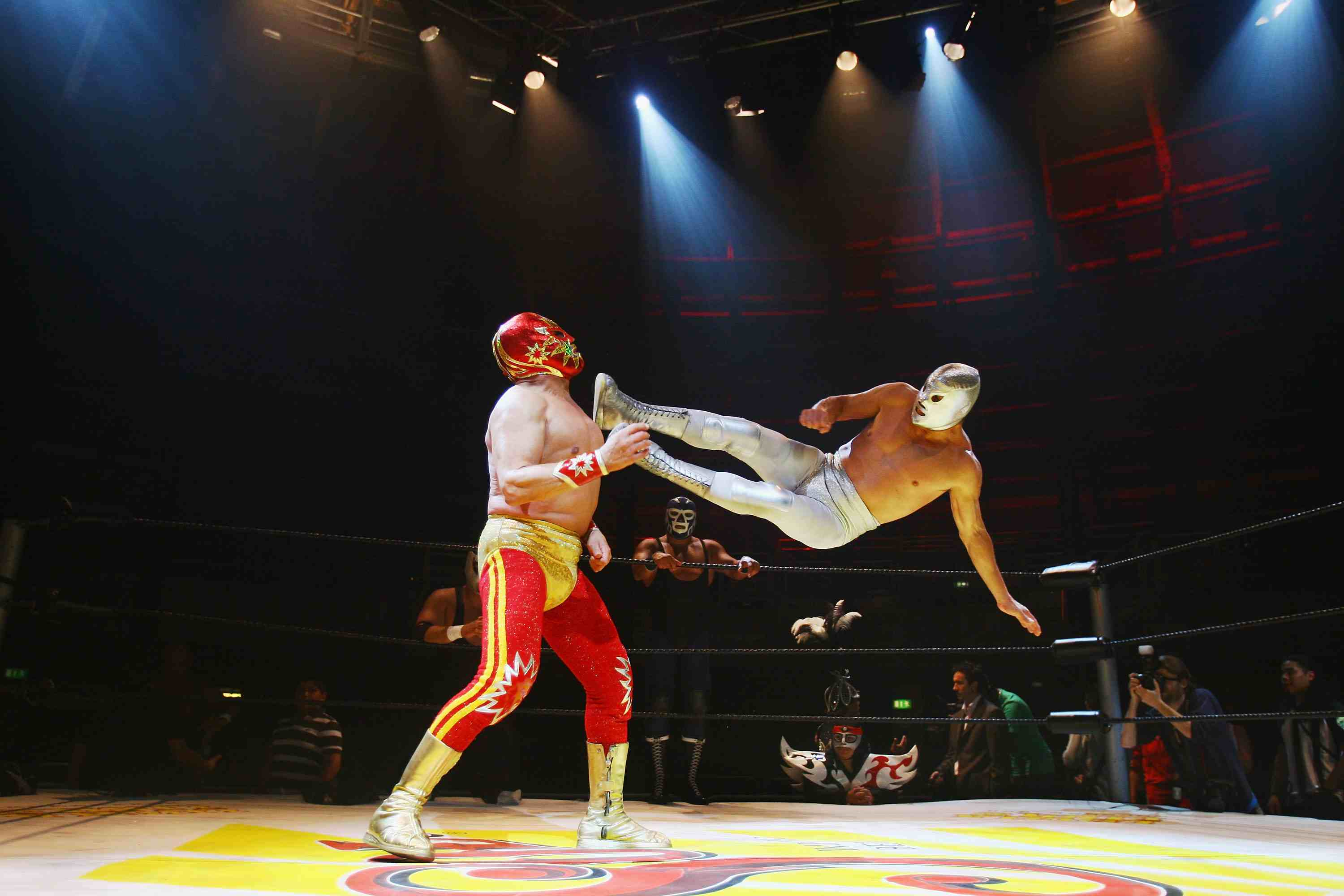 Mexican Lucha Libre Wrestlers