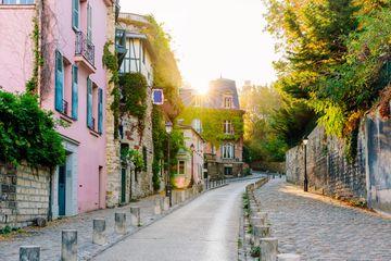 Morning in Montmartre, Paris, France