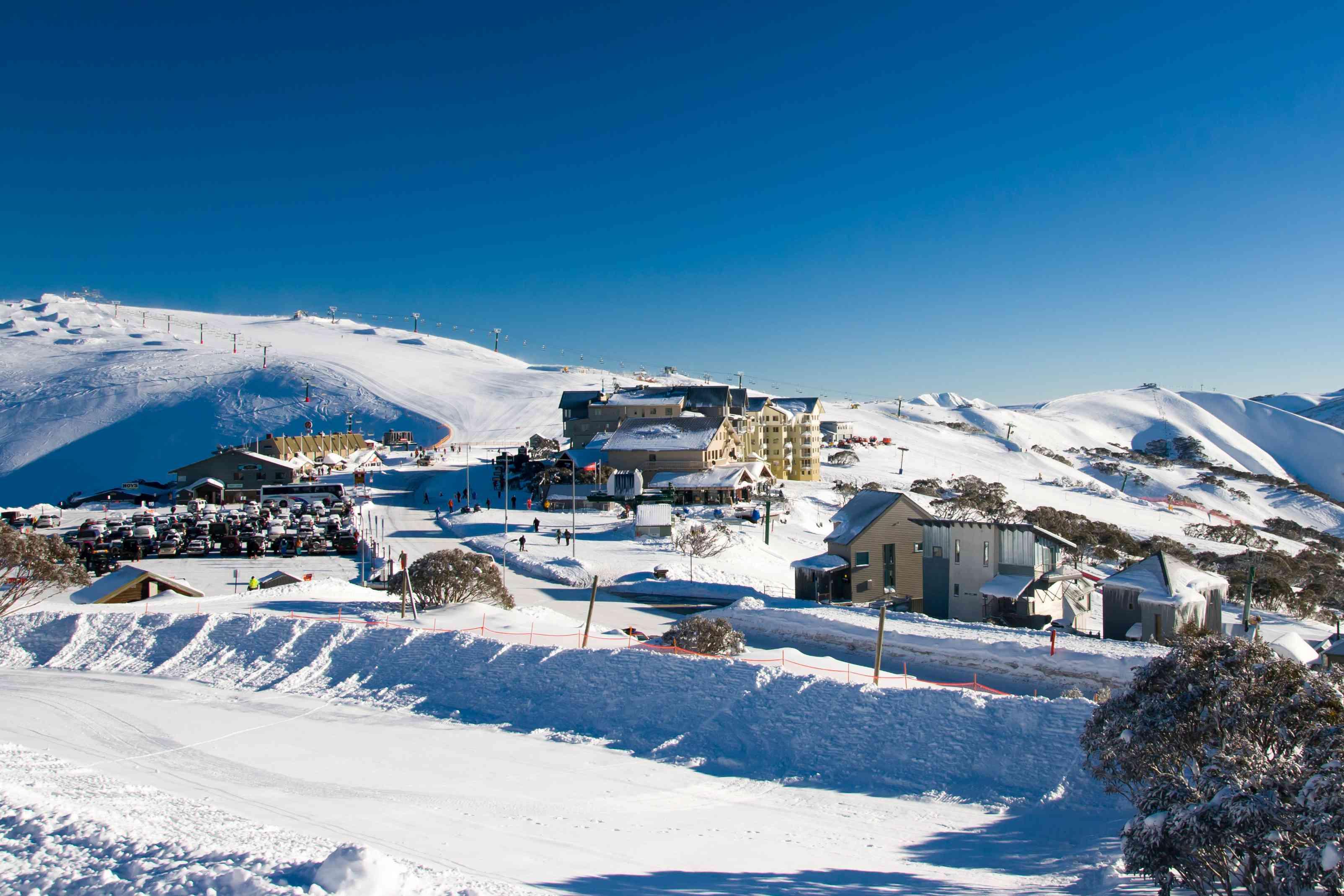 Monte Hotham en invierno