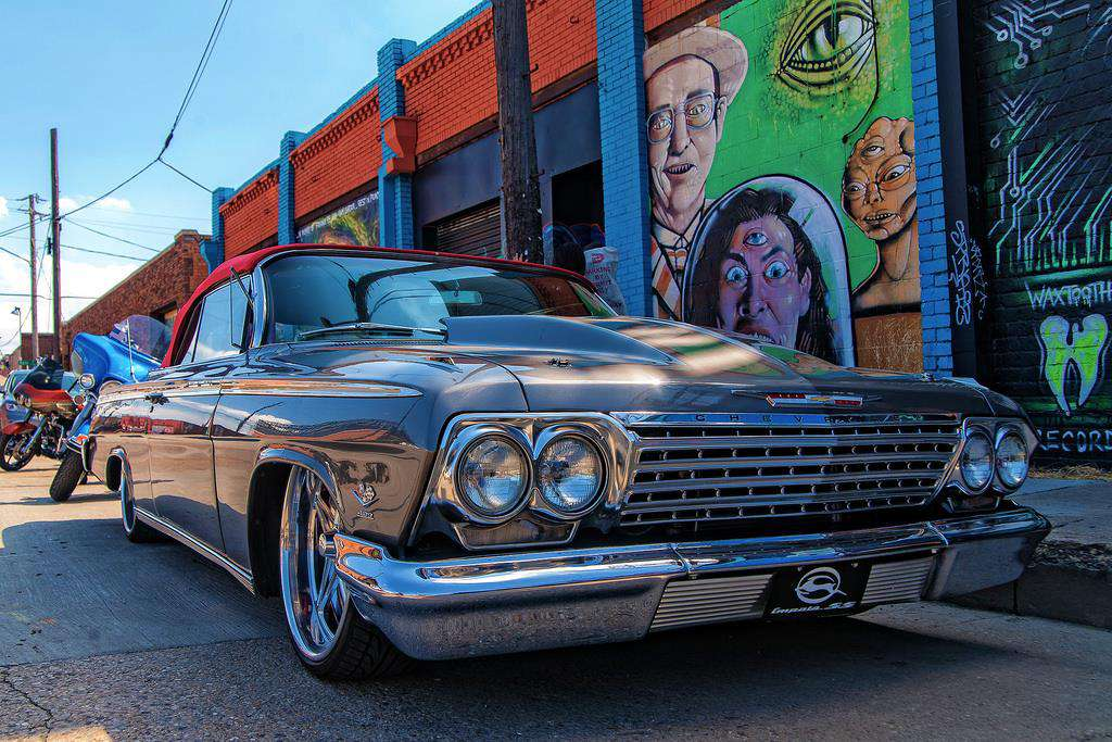 1964 Chevy Impala at Invasion Car Show