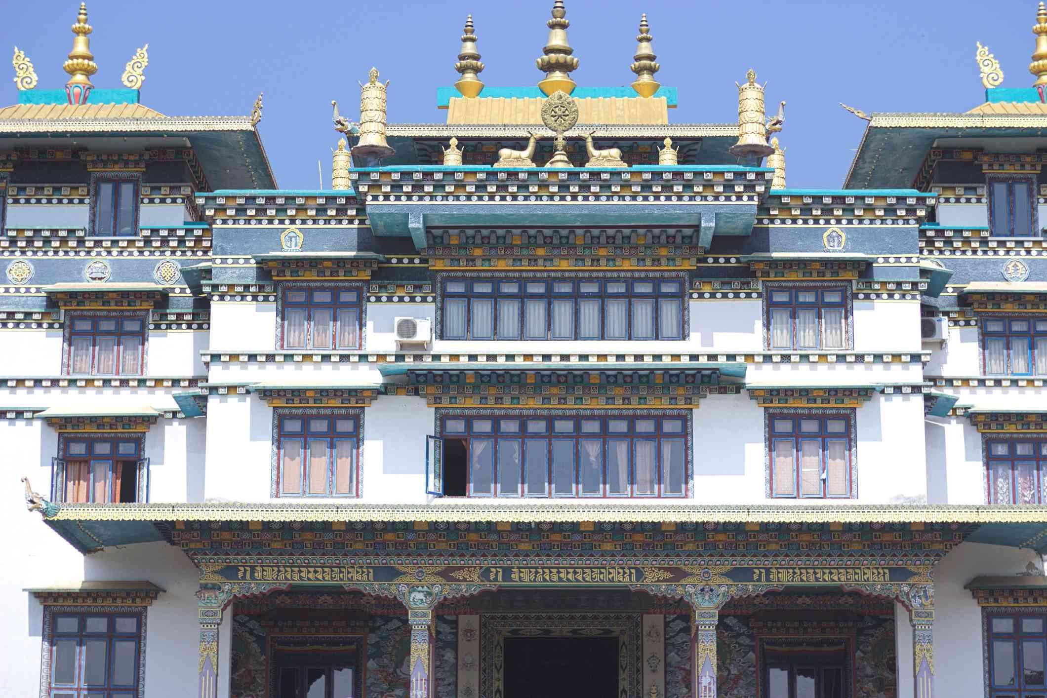 Padmasambhava Mahavihara Monastery also known as Jirang Monastery is located in Odisha, India.
