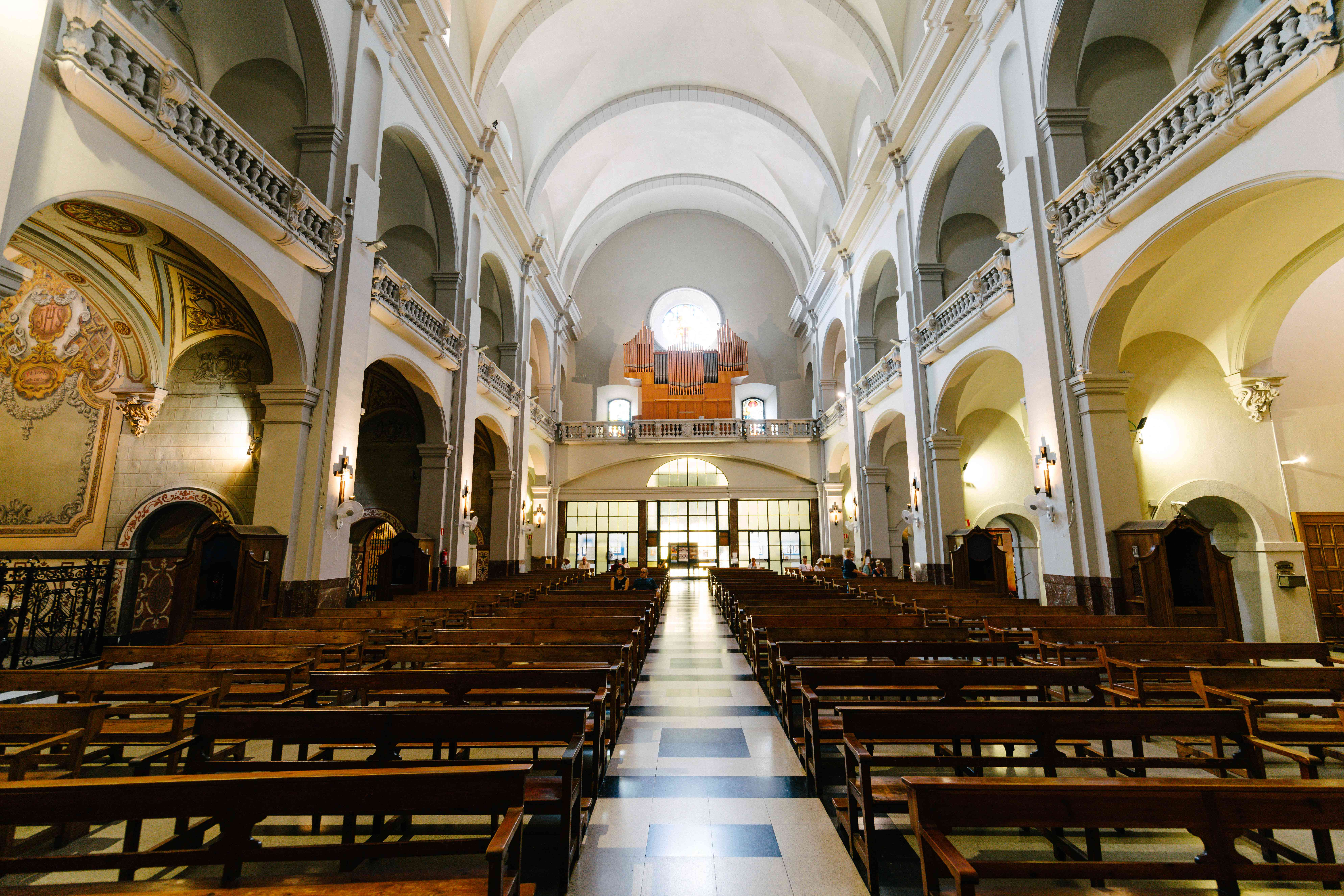 Inside of Betlem Church