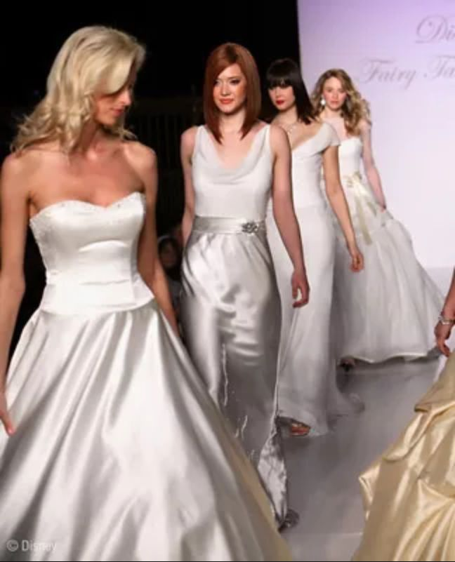 2007 Disney Wedding Dress collection