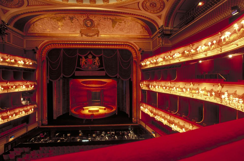 La Royal Opera House, COVENT GARDEN, Londres, Londres, Inglaterra.