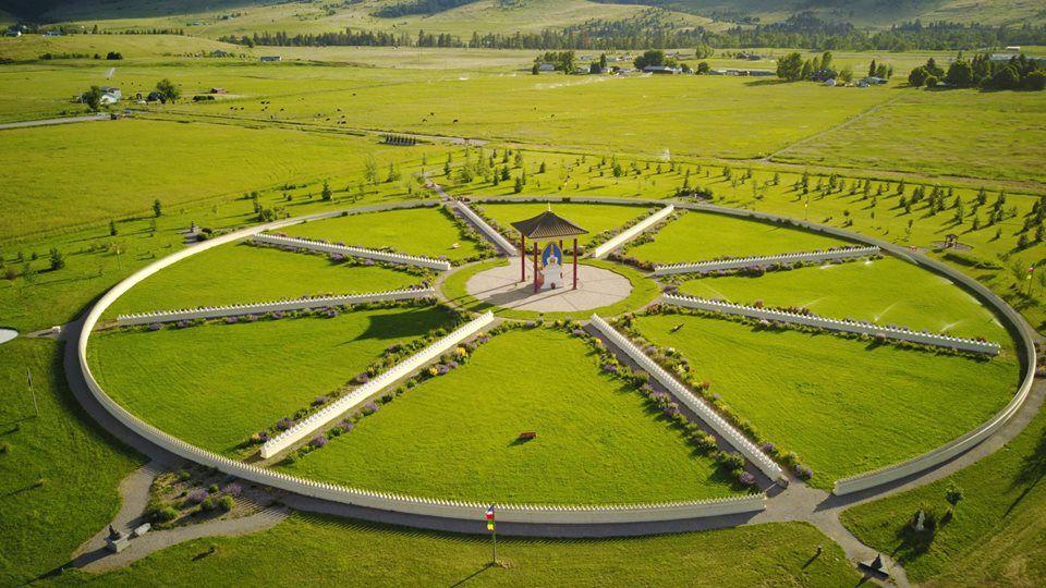 El Jardín de los Mil Budas