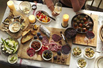 Italian antipasti - appetizers