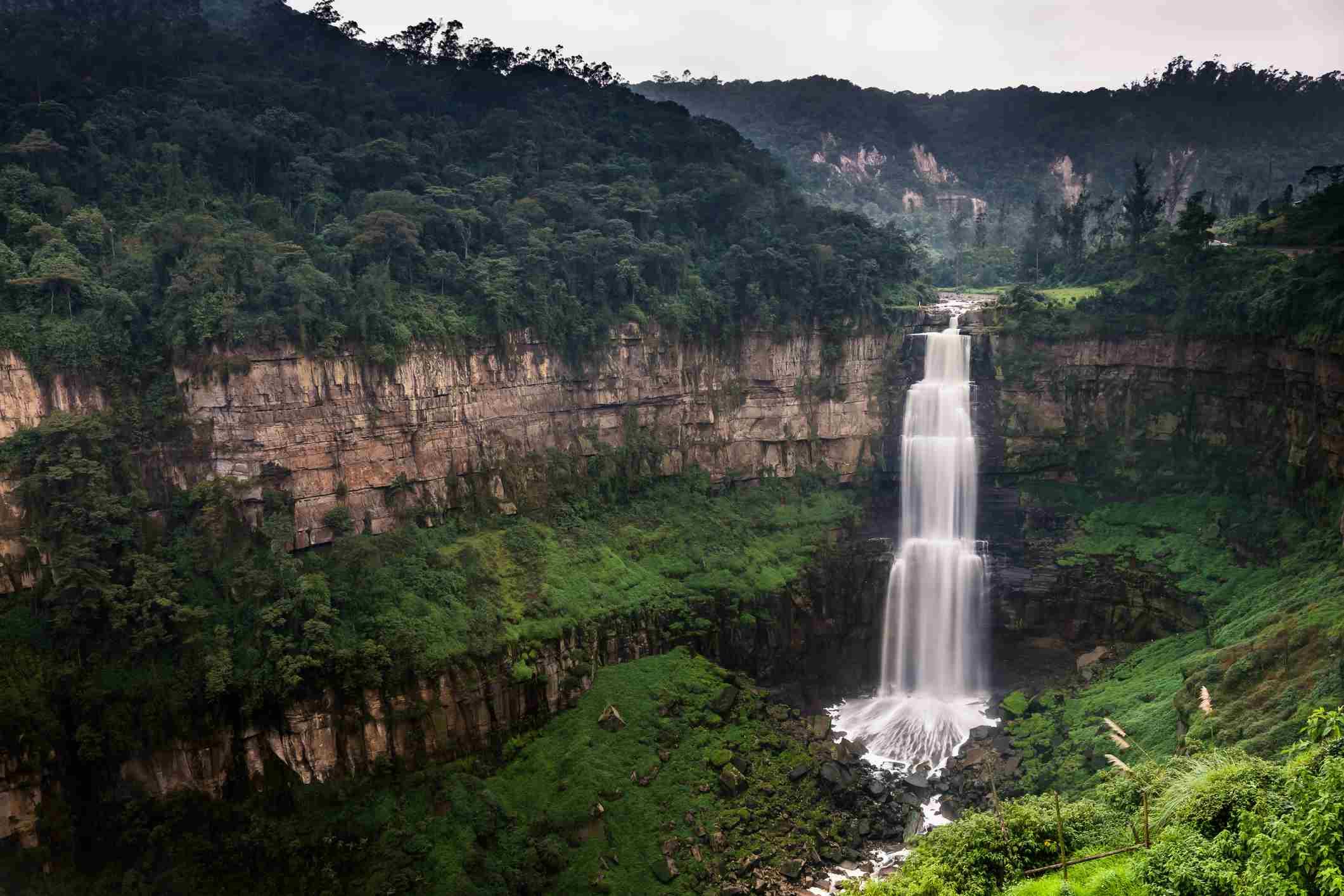Tequendama falls, Bogota