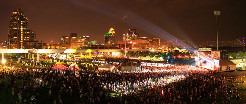 Forecastle Festival in Louisville, KY