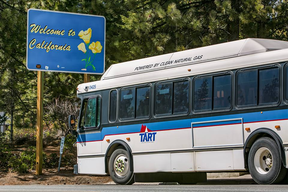 TART Bus at Lake Tahoe