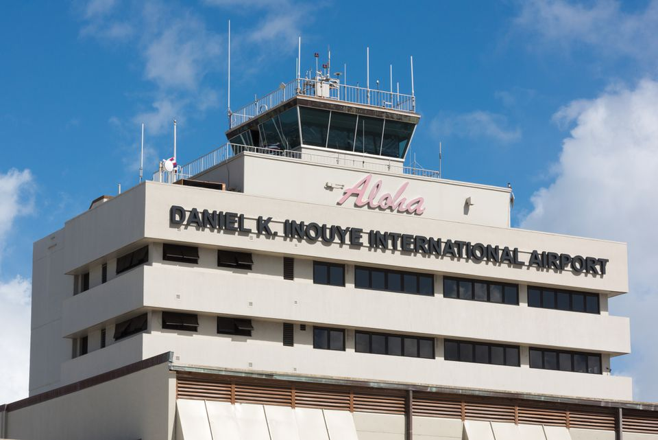 Daniel K. Inouye International Airport, Honolulu, Oahu, Hawaii
