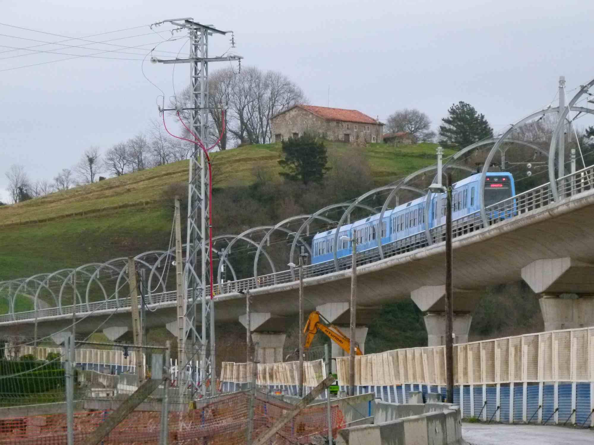 Euskotren train