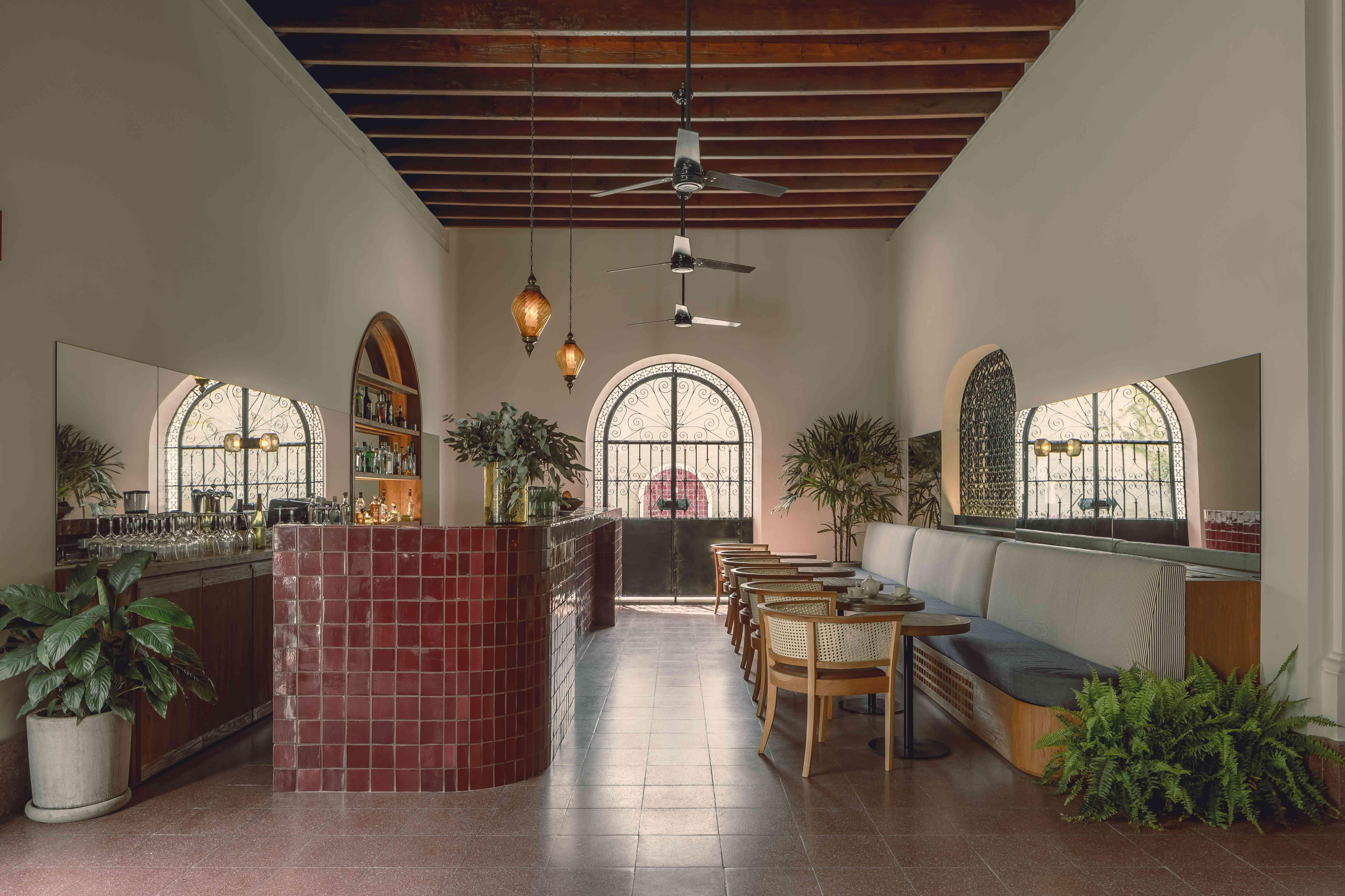 Baja Club lobby