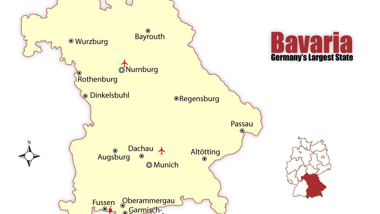 Dusseldorf Subway Map.Travel To The Best Bavarian Cities Munich And Nuremberg