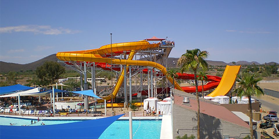 Six Flags Hurricane Harbor Phoenix water park