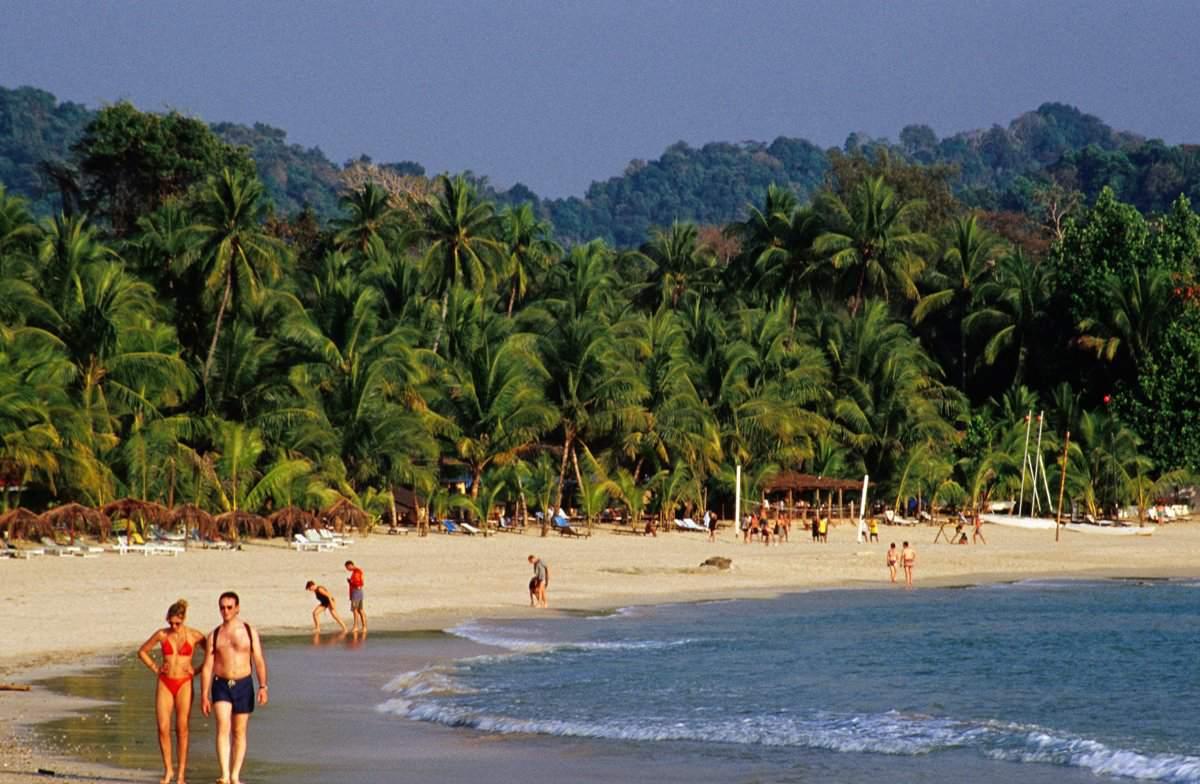 Costa de Playa de Ngapali, Myanmar