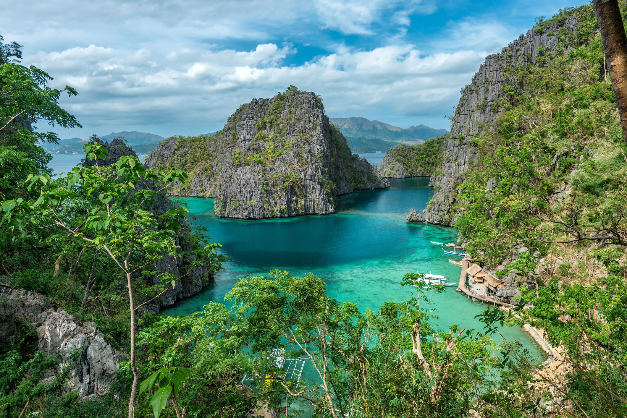 Isla Coron en Filipinas