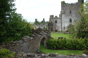 Leap Castle in Ireland
