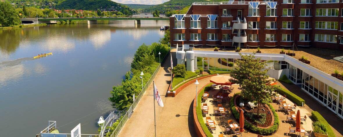Marriot Hotel in Heidelberg, Germany