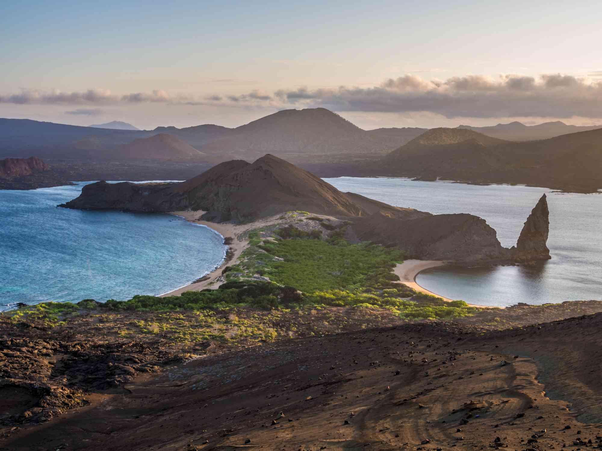 Bartolom Island in the Galapagos