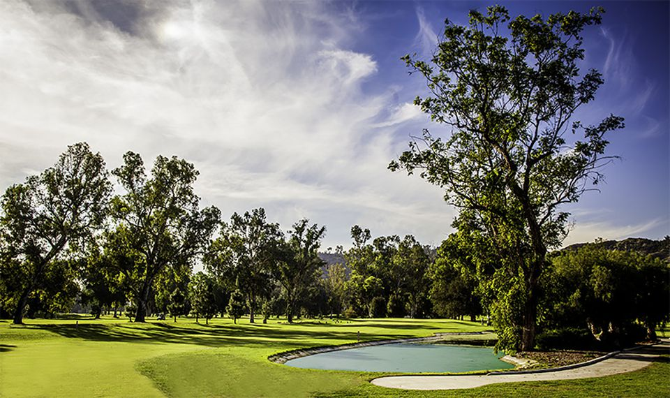The Harding Municipal Golf Course at Griffith Park