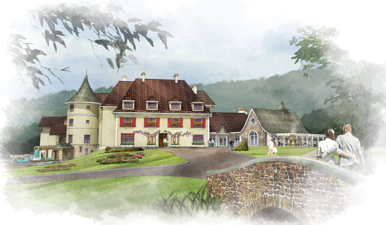 You'll feel as if you're staying at a private estate when you book accommodations at the new Mirbeau Inn & Spa in Plymouth