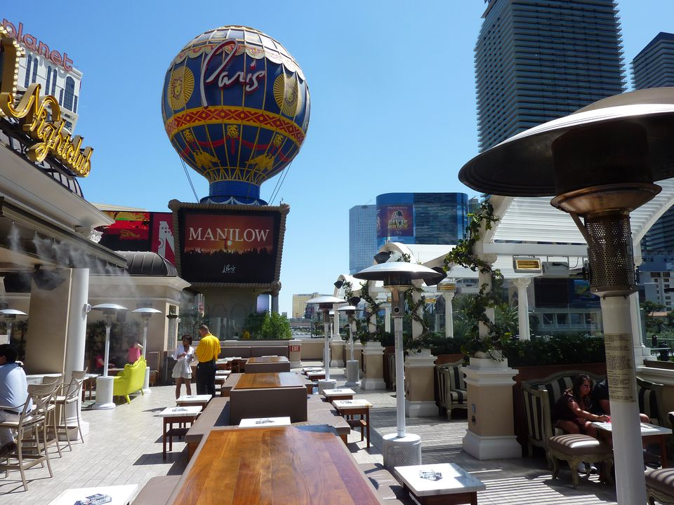 Chateau Beer Garden at Paris Las Vegas