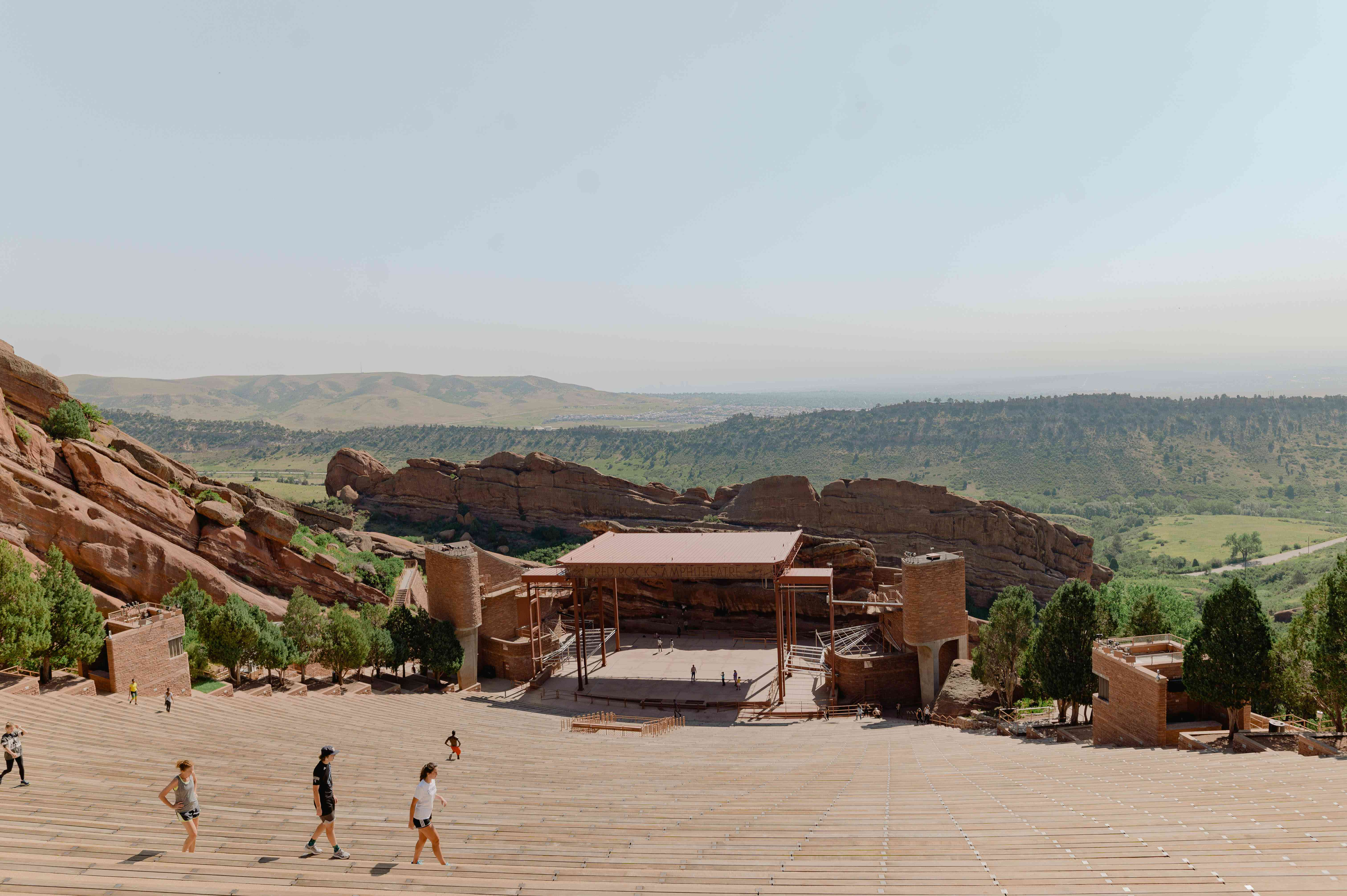 Red Rocks Park and Amphitheatre in Denver