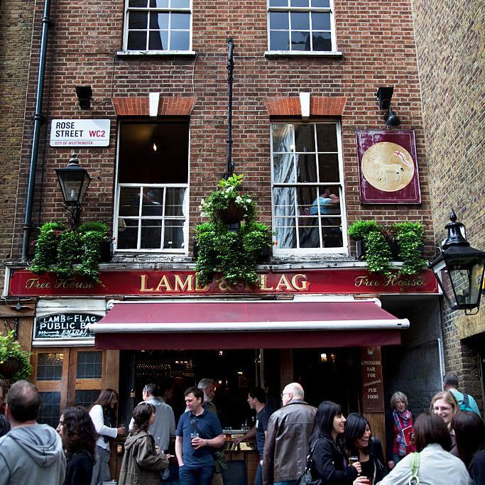 Lamb and Flag London