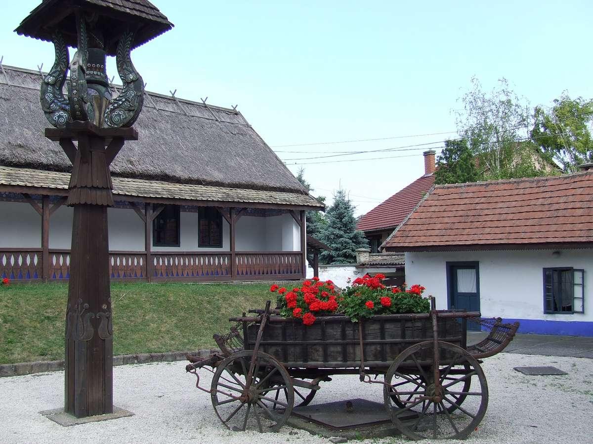 Kalocsa Museum of Folk Art in Kalocsa, Hungary