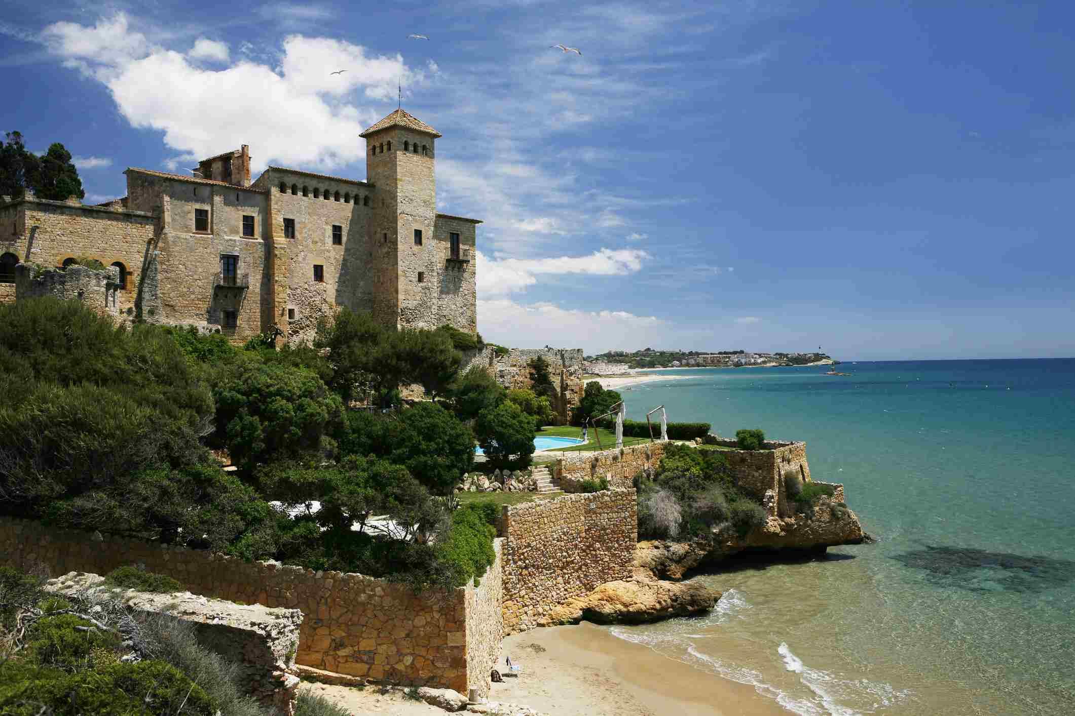 Costa mediterránea de Tarragona, Tamarit, Cataluña, España, Europa