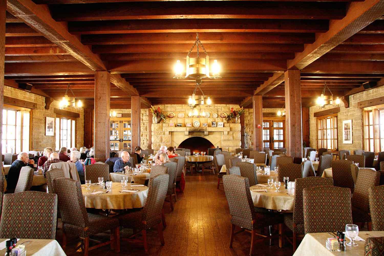 Interior of Pere Marquette Lodge in St. Louis
