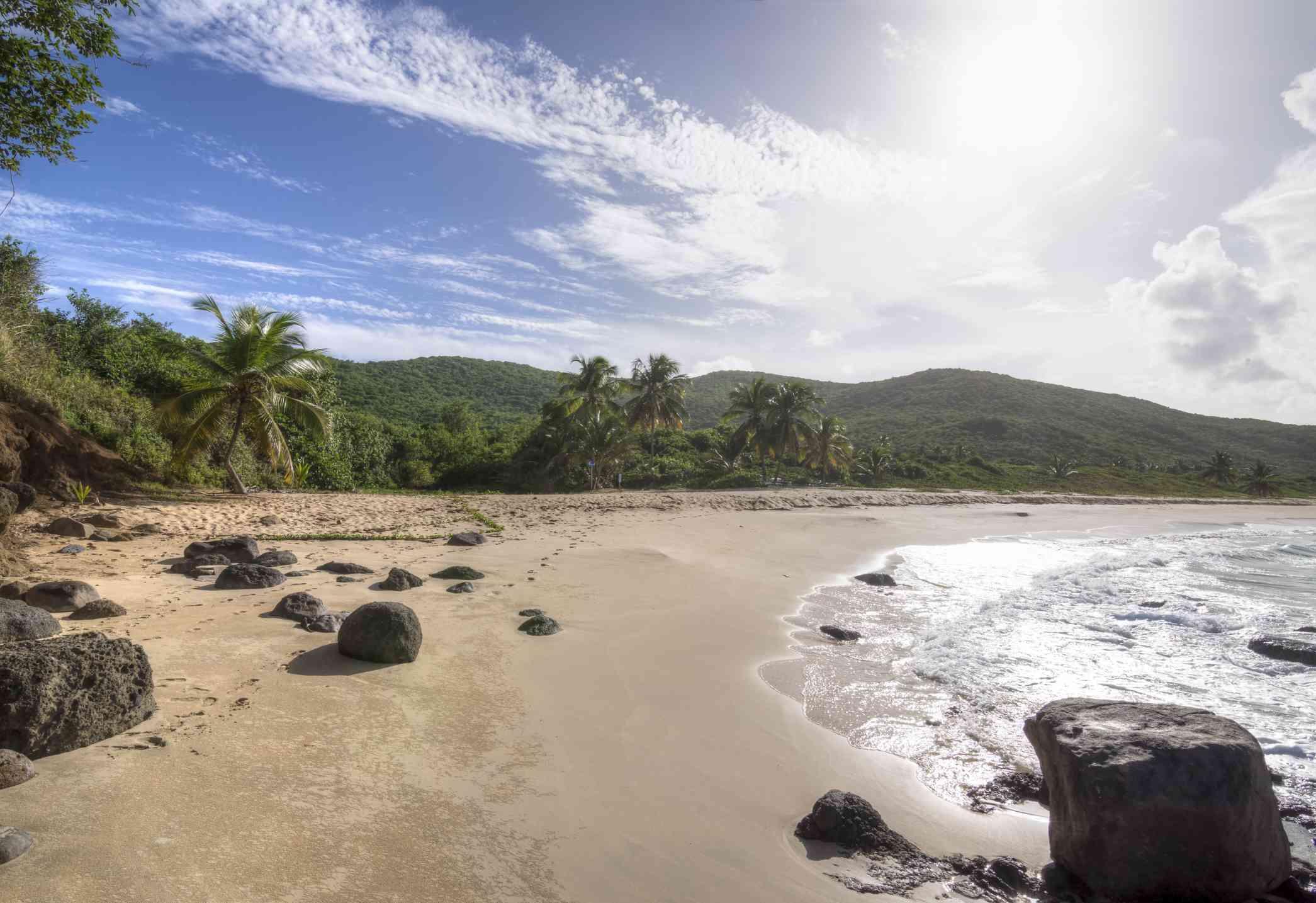 Playa Brava beach on Isla Culebra