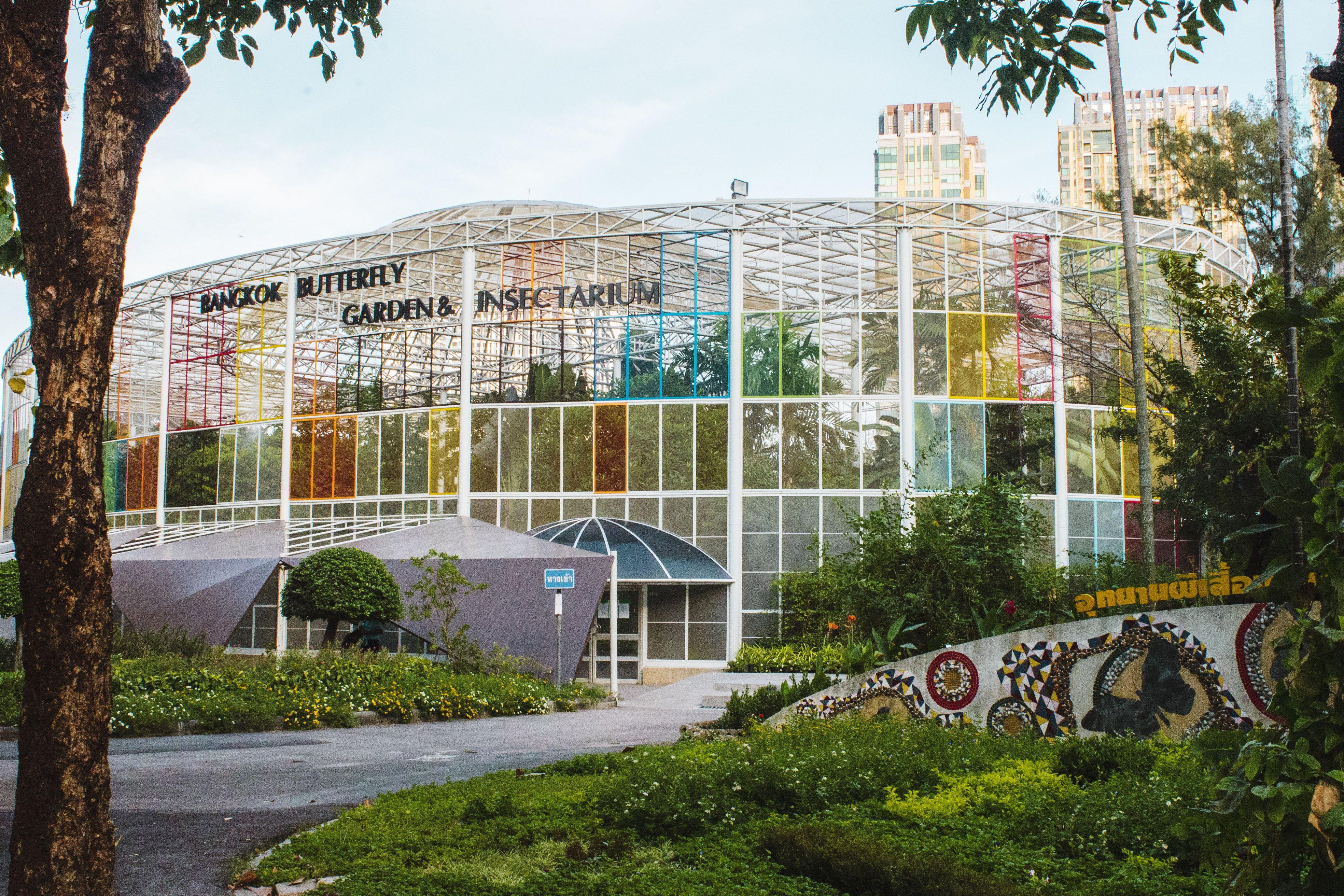 Exterior of the Bangkok Butterfly Garden & Insectarium