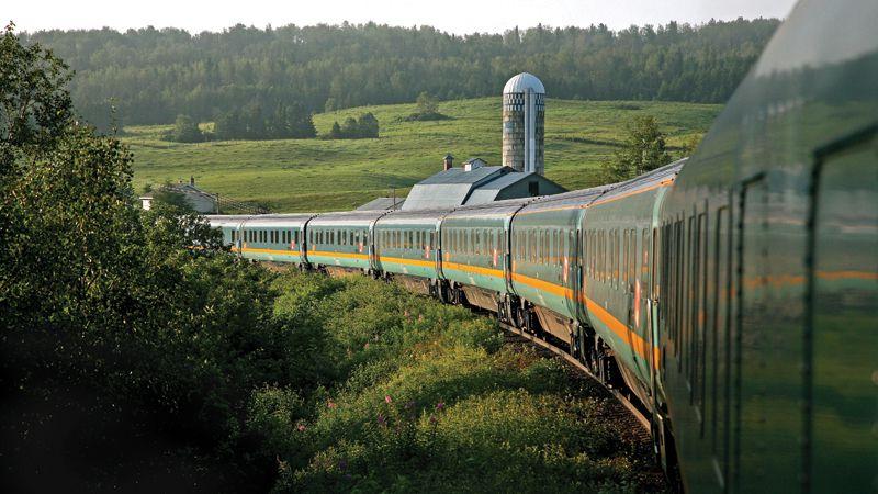 Montreal - Halifax VIA Rail train