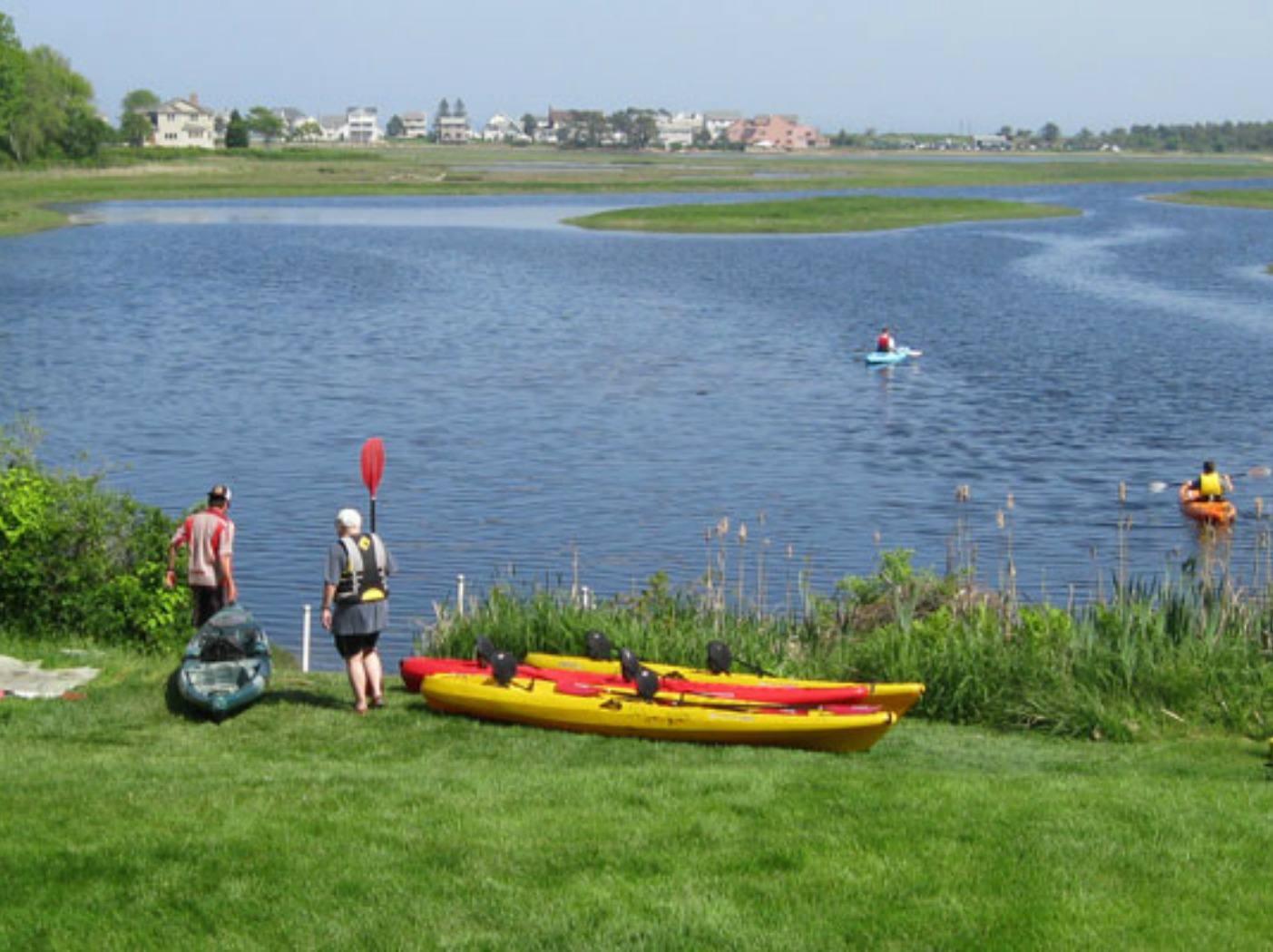 Kayaking on the Ogunquit River