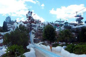 Summit Plummet waterslide ride Disney