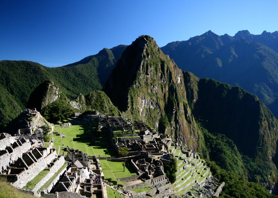 Machu Picchu at 7,972 feet altitude