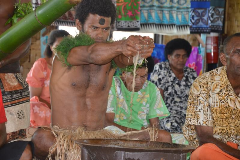 Kava Drinking Ceremony