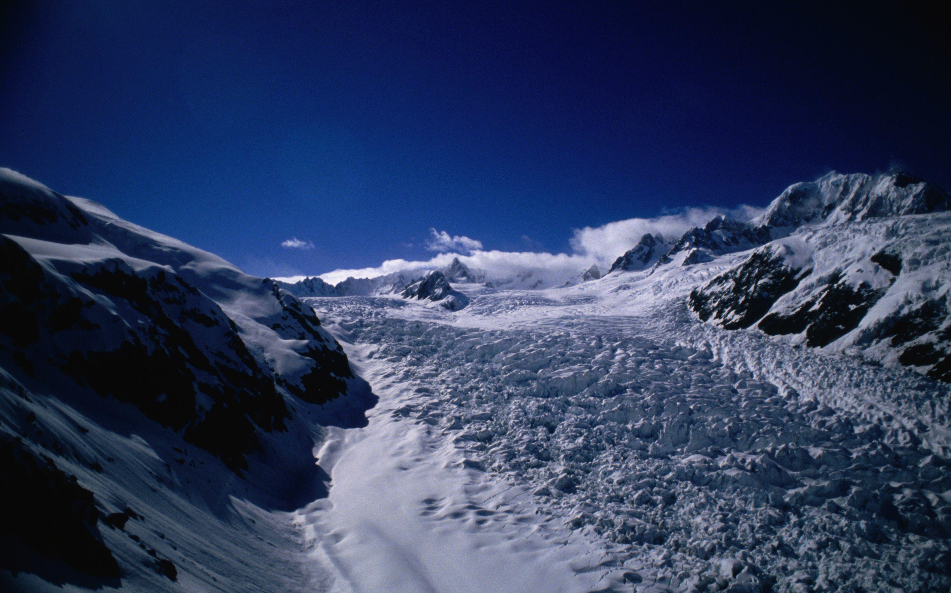 Westland National Park, Fox Glacier, South Island, West Coast, New Zealand, Australasia
