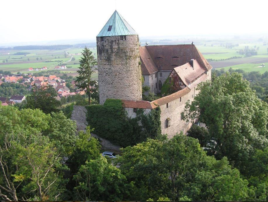 Colmberg Castle Hotel In Bavaria