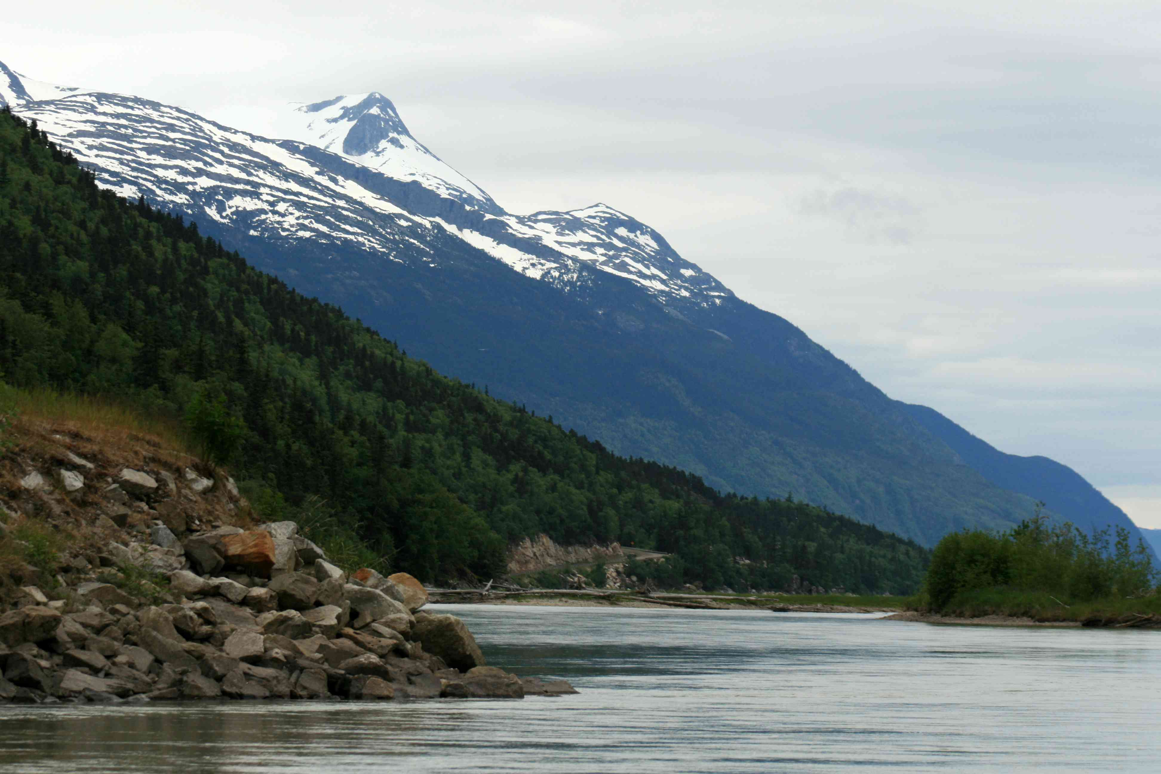 Chilkoot Gold Mine Trail, Skaguay, Alaska, USA