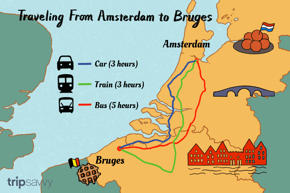 Amsterdam a Brujas