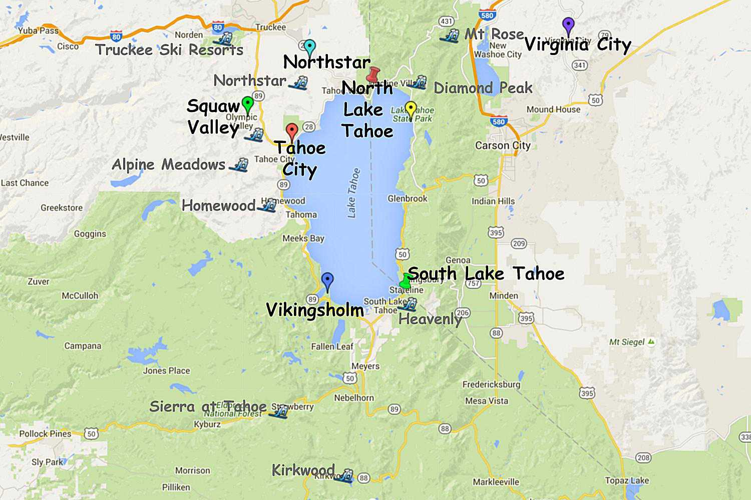 Guide to Planning a Lake Tahoe California Vacation on lake tahoe golf course map, lake tahoe mountain map, lake tahoe winter map, northstar resort tahoe map, lake tahoe casinos, lake tahoe snow, lake tahoe mapguide, hyatt regency lake tahoe resort map, lake tahoe points of interest map, squaw valley resort map, california ski areas map, lake tahoe skiing, lake tahoe national forest map, ski bc map, lake tahoe granlibakken resort, lake tahoe tourist map, lake tahoe sierra resort, lake tahoe airport map, christmas valley lake tahoe map, lake tahoe tee shirt,