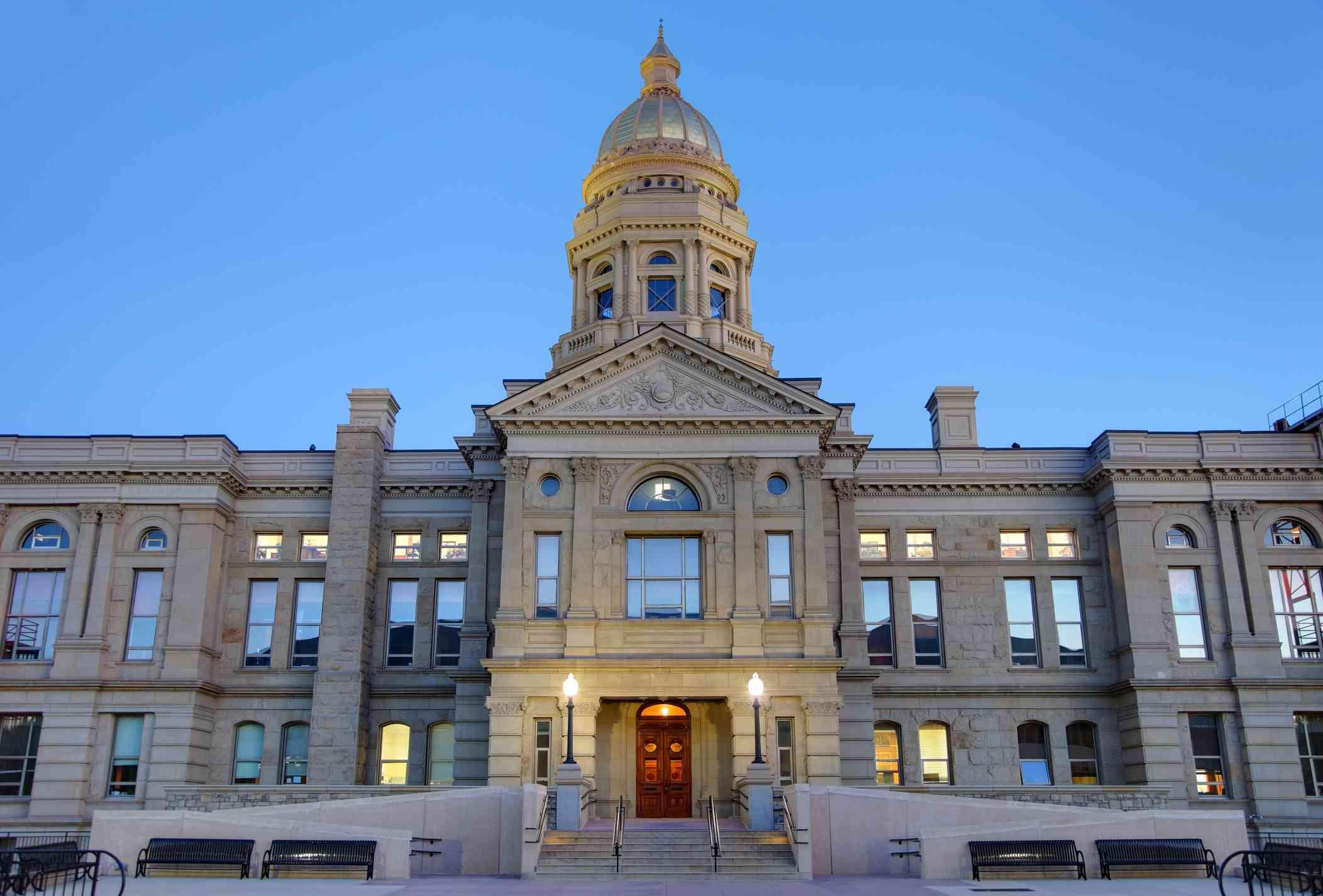 Wyoming State Capitol Bulding