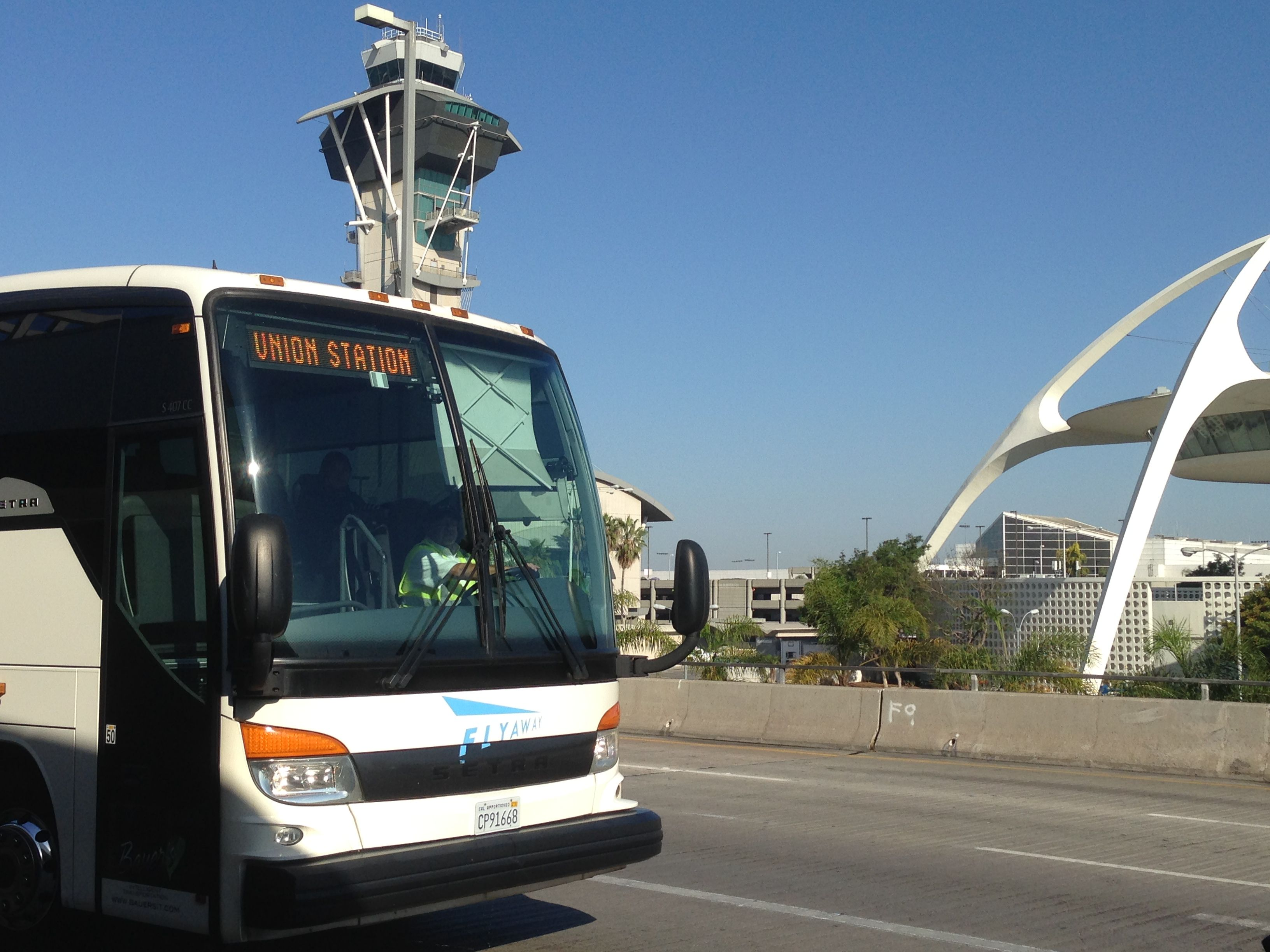 Information on the LAX FlyAway Airport Shuttle