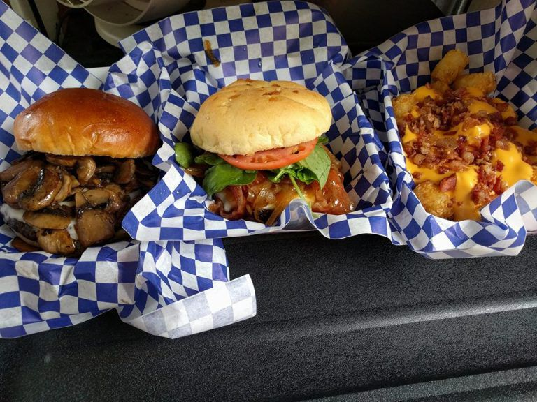 Burgers from Angie Burger food truck