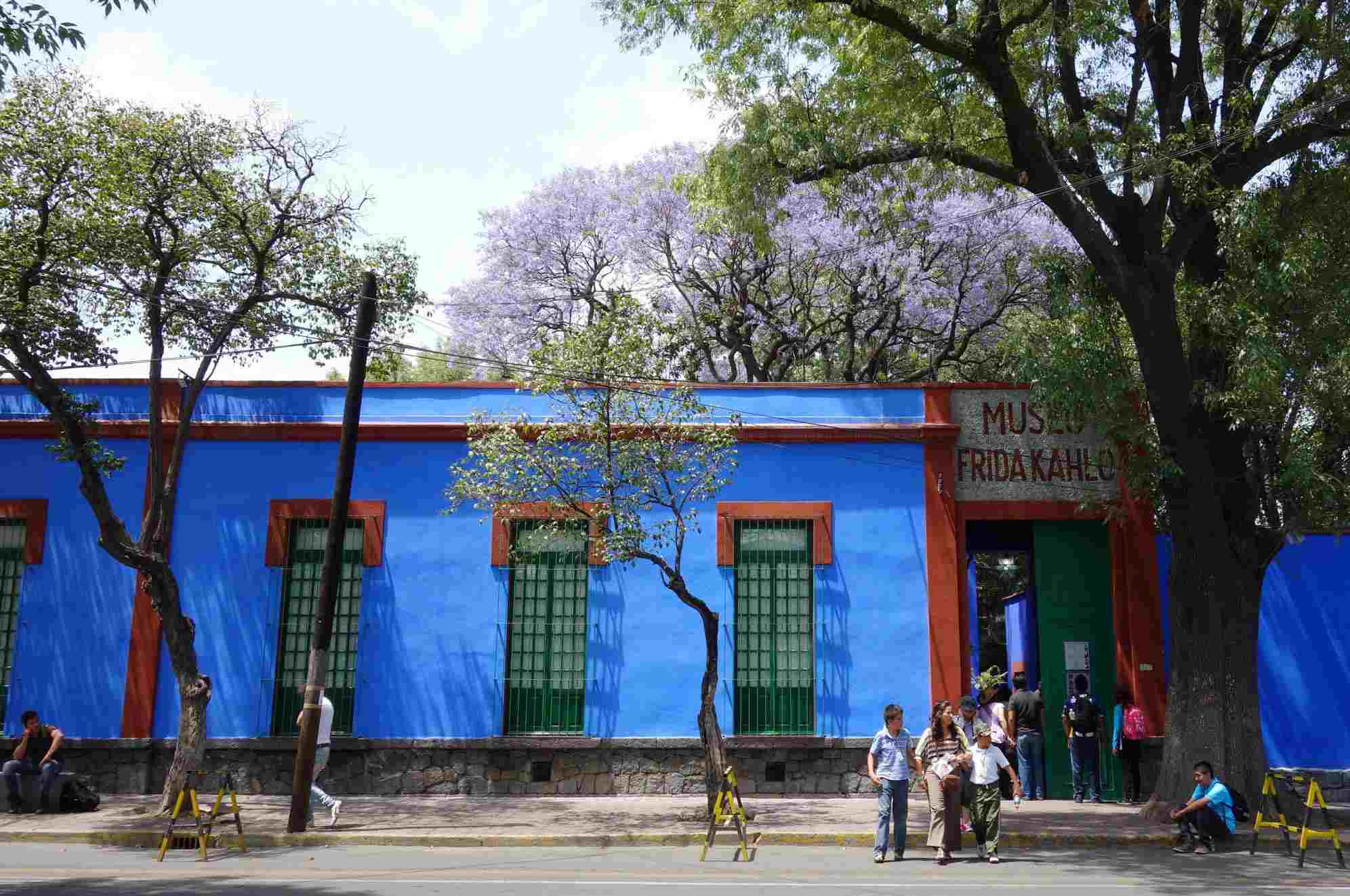 Frida Kahlo Museum, The Blue House in Mexico City